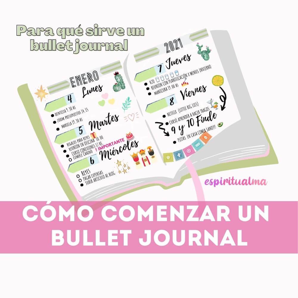 Cómo comenzar un Bullet Journal: ¿Qué utilidad tiene?