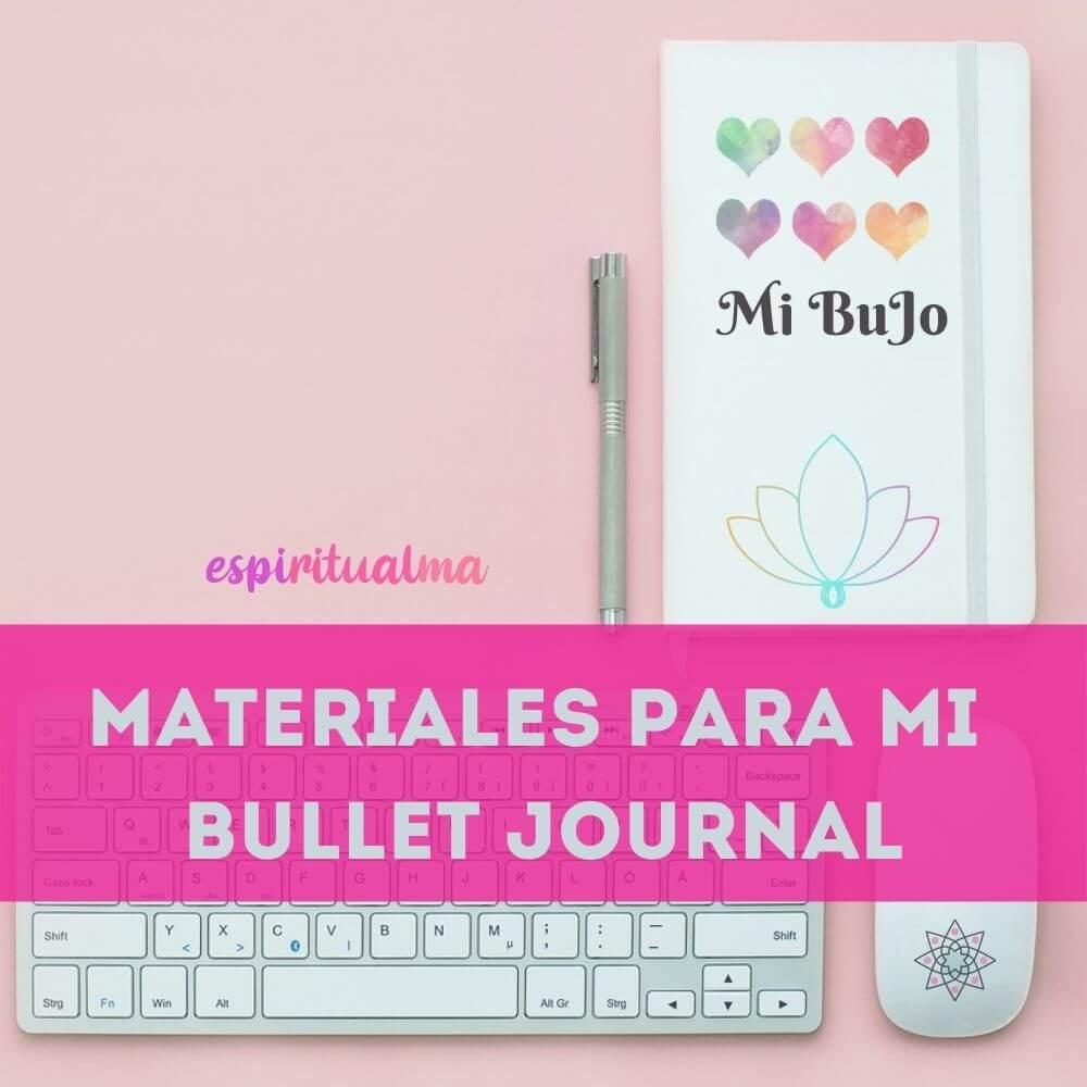 Qué cuaderno usar para Bullet Journal?