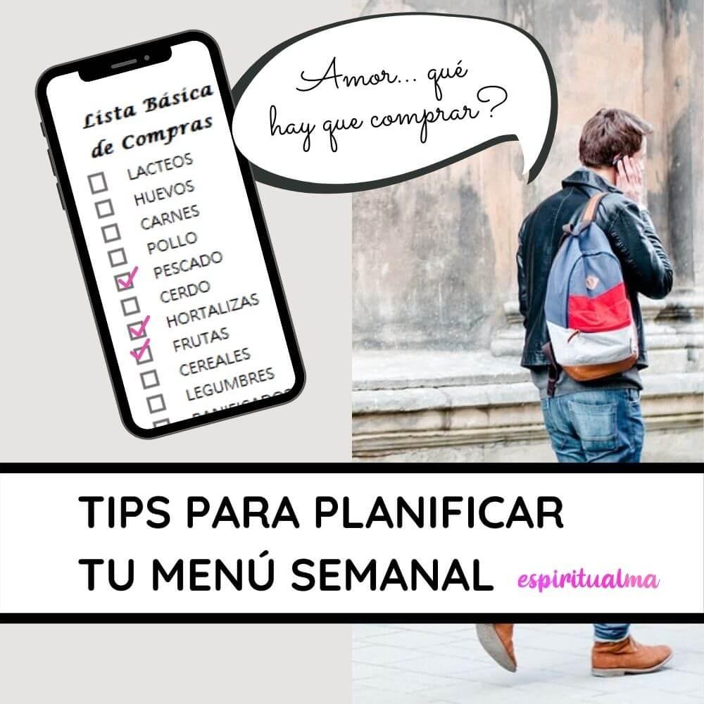 Cómo Planificar tu menú semanal y ahorrar dinero